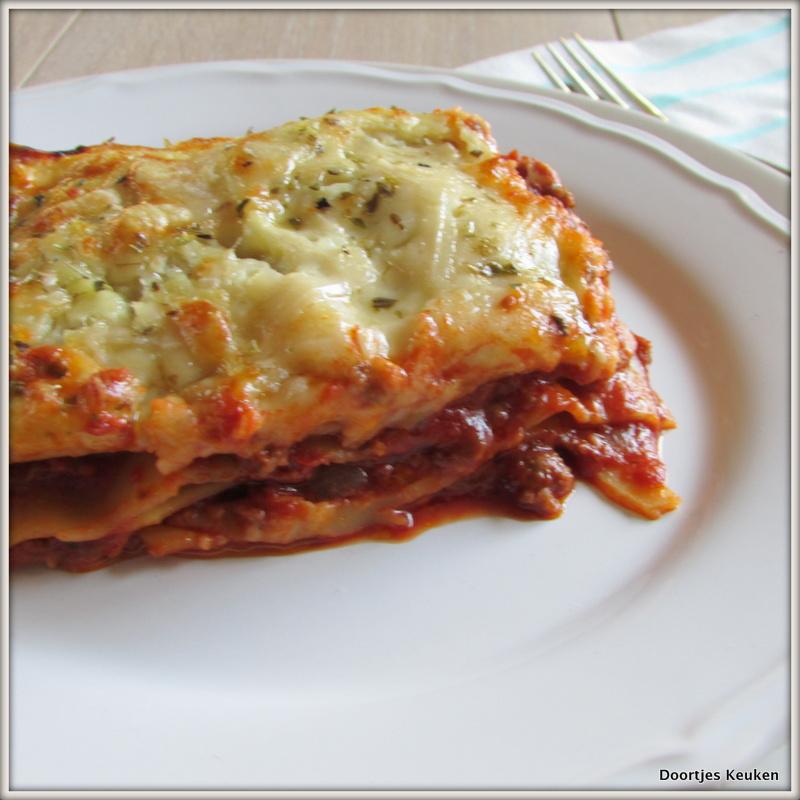 Lasagne a la Doortje