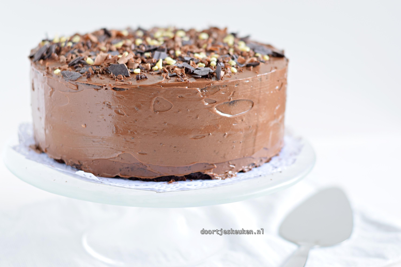 Chocoladetaartje met karnemelk