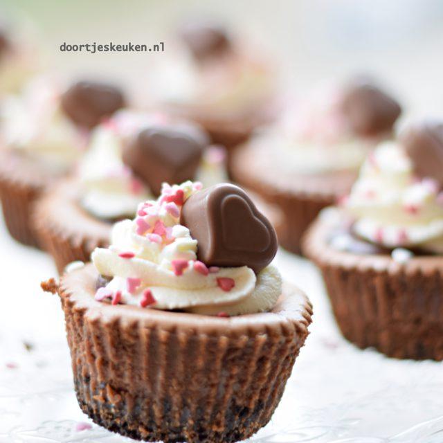 chocolade cheesecakejes