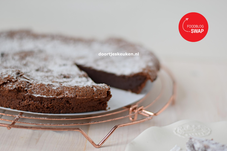 Franse chocoladetaart