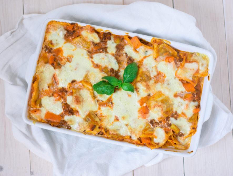 Pasta ovenschotel met paprika