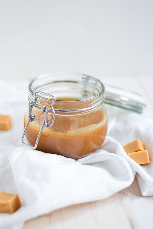 Gezouten karamelsaus