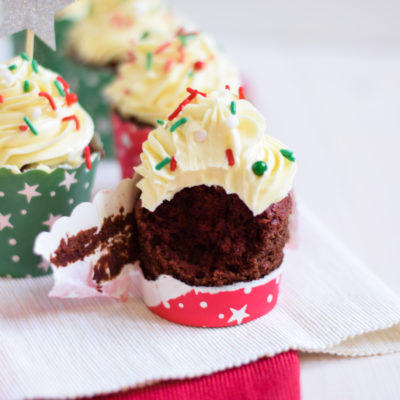 red velvet cupcakes