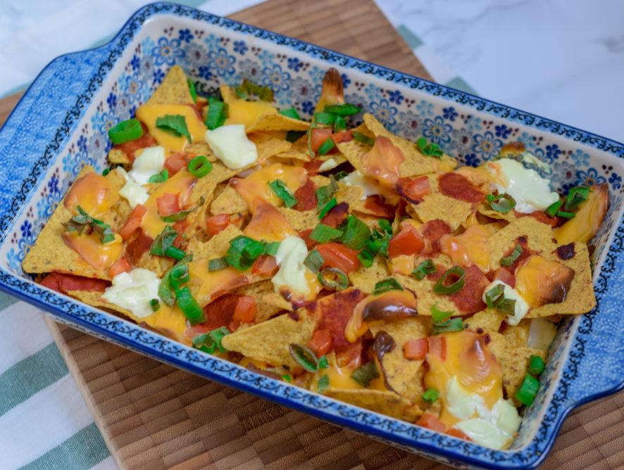 Simpele nacho schotel