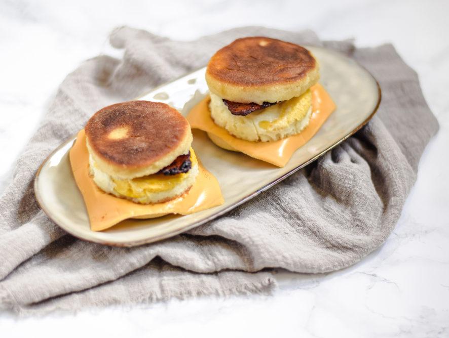 McMuffin bacon egg
