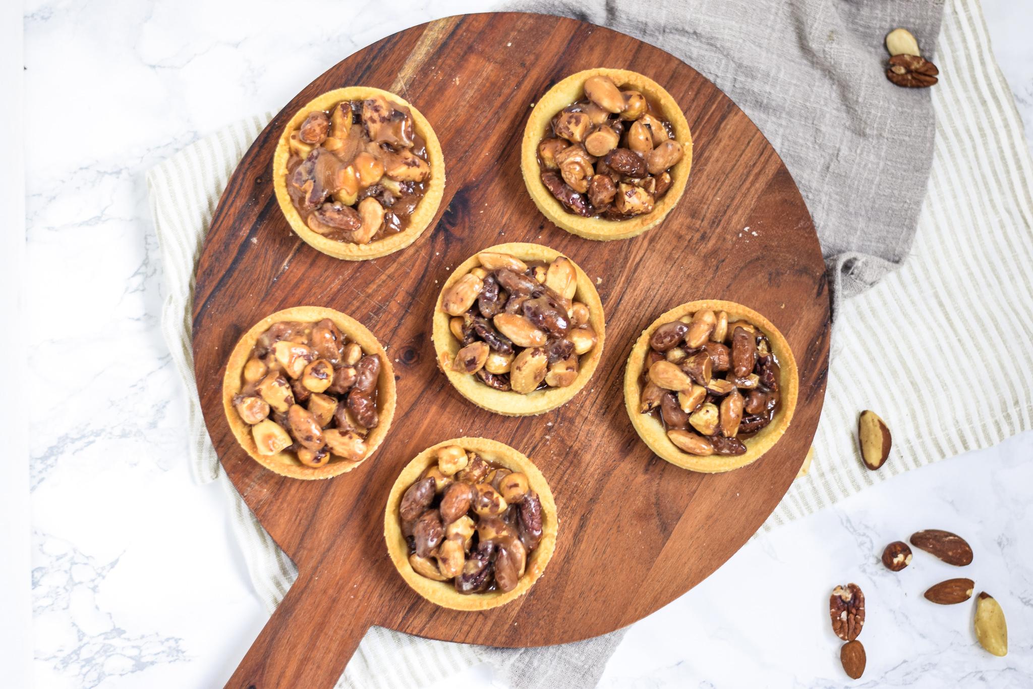 notenkaramel tartelettes