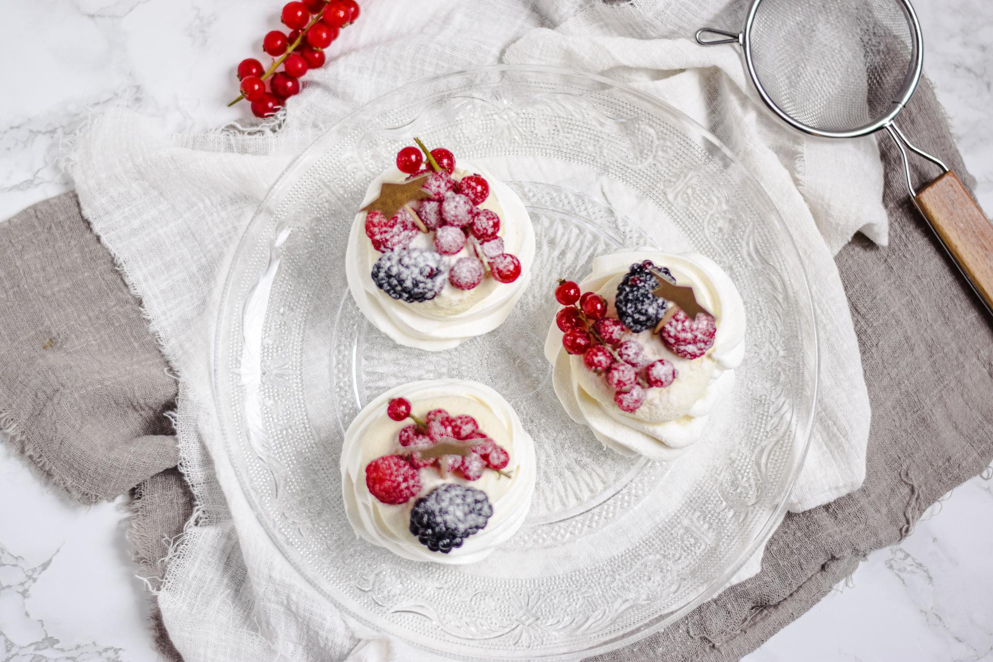 pavlova met rood fruit